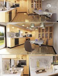 urban kitchen 3d models and 3d software by daz 3d