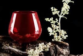 bicchieri degustazione olio approvato il colore rosso granato per il bicchiere da degustazione