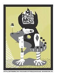 washington d c modest mouse show poster u2013 glacial pace recordings