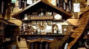 German Clocks Cuckoo Clocks In Titisee Germany Youtube