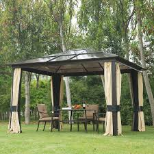 Gazebo On Patio by Outsunny 3m X 3 6m Metal Gazebo Canopy Patio Marquee Party Tent