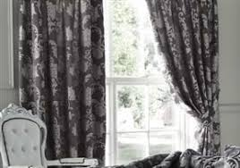 Luxury Grey Curtains Sorrento Graphite 66 X72 Lined Curtains Luxury Jacquard