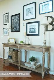 Wall Console Table New Hallway Gallery Wall And Console Table 11 Magnolia