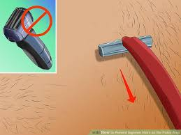 constant ingrown hairs on pubis 3 ways to prevent ingrown hairs on the pubic area wikihow