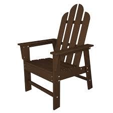 Plastic Chairs Patio Amazon Com Polywood Ecd16le Long Island Dining Chair Lemon