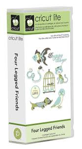 amazon com cricut lite cartridge four legged friends