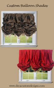 affordable luxury curtains custom balloon shades available in