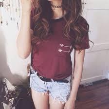 blouse tumbler burgundy blouse smart casual blouse