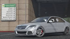 mercedes s 65 amg mercedes s65 amg w221 add on replace gta5 mods com