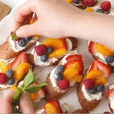 canapes fruit canapés all recipes uk