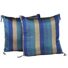 indigo pillow set moroccan home decor authentic moroccan
