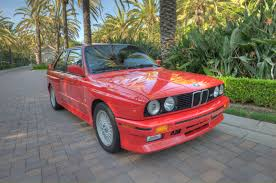Bmw M3 1989 - very nice 1989 bmw e30 m3 in zinnoberrot red rare cars for sale