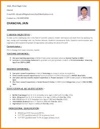 latest resume format for teachers 6 resume format for teacher job nurse homed 6 resume format for teacher job