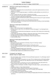 resume exles for software engineers principal software engineer lead resume sles velvet jobs