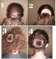 donut hair bun how to use one of those doughnut bun shaper thingys hair