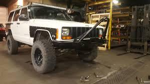 jeep body armor rock hard series front body armor jeep cherokee xj 84 01