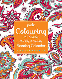 Columbus Monthly 2016 Top Doctors Posh Coloring 2015 2016 Large Monthly Weekly Planning Calendar