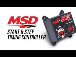 msd 8987 start and step timing control msd performance products
