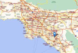 santa california map santa california map