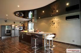 plafond cuisine design cuisine le plafond tendu barrisol dans votre cuisine