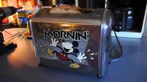 Winnie The Pooh Toaster Mickey Mouse Toaster Singing For Ebay Listing A Must See On