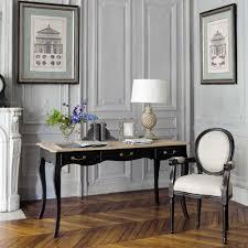 bureau maisons du monde bureau en manguier noir bureau maison du monde et classique chic