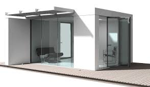 glass box modular house extension u2013 nicolas tye architects