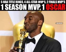 Oscar Memes - 7 best memes of kobe bryant winning an oscar sportige