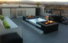 Contemporary Firepit Modern Propane Pit Modern Patio With Pit Windy Humphreys