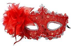 mardi mask venetian style lace with rhinestone liles costume