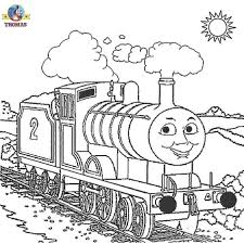 thomas train coloring pages printable coloring pages