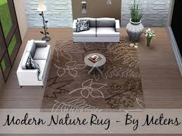 Modern Nature Rugs Metens Modern Nature Rug 3 Sims 3 Downloads Rugs And Carpets