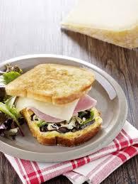 cuisiner du jambon blanc croque basque au pur brebis pyrénées et jambon blanc recette de