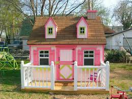 fabulous cool playhouses design inspiration presenting wooden