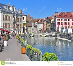 province france annecy old town france editorial photography image of french
