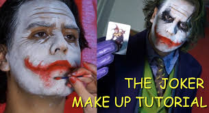 the joker heath ledger tutorial maquillaje make up tutorial
