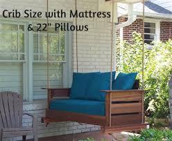 modern swing bed u2013 magnolia porch swings