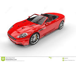 convertible lamborghini red red convertible sports car top view stock image image 68690097
