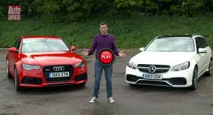 audi rs6 vs station wagons audi rs6 avant vs mercedes e63 amg estate