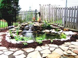 how to design a backyard how to design a garden pond designs with waterfall the
