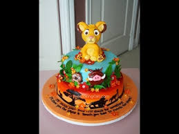 lion king cake toppers lion king cake simba cake