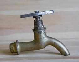 Faucet Or Spigot Steampunk Faucet Etsy