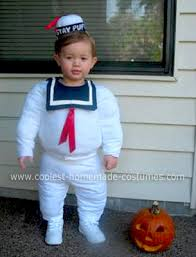 Halloween Costumes Coolest Homemade Stay Puft Marshmallow Man Costume Stay