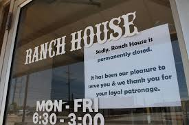 ranch house self walbrick ranch house closes after 45 years in downtown