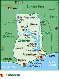 Map Of Ghana Heidelbergcement Commissioned A New Cement Mill In Ghana