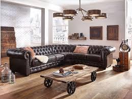 canapé d angle style anglais canape d angle marron maison design wiblia com