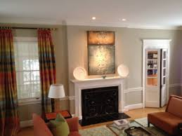 recessed lighting over fireplace interior lighting contract electric inc