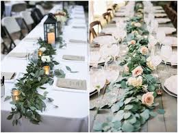 table decorations 18 rustic greenery wedding table decorations you will chicwedd