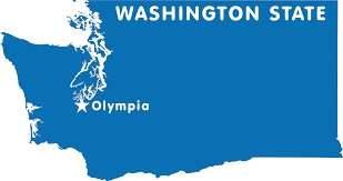 Map Of Washington State With Cities by Washington Map Blank Political Washington Map With Cities Just