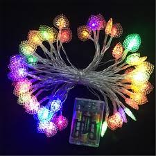 small christmas lights battery operated 8m 50 led small love heart led l battery christmas string fairy